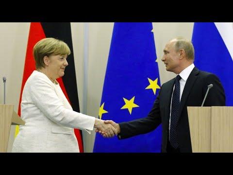 Merkel und Putin in Sotschi: Miteinander reden sei absolut wichtig