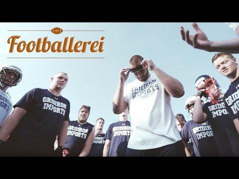 GRIDIRON IMPORTS Camp Landsberg mit BJÖRN WERNER | Footballerei
