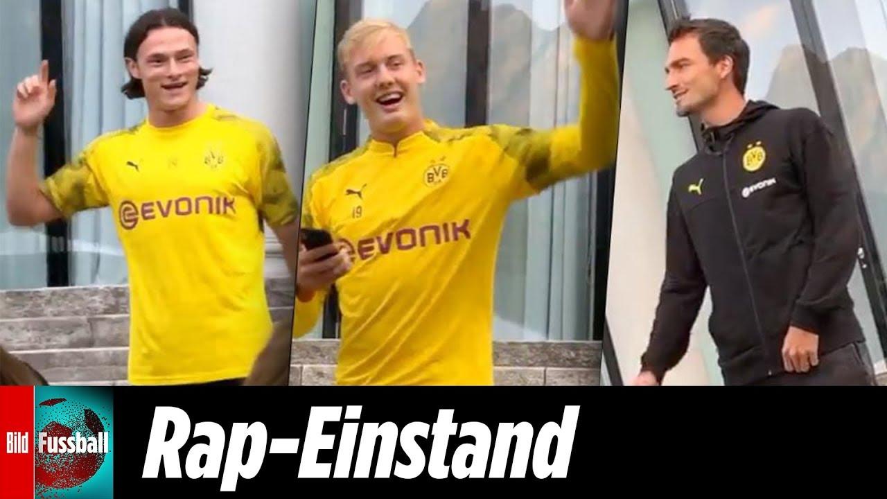 Hummels, Brandt & Co.: BVB-Neuzugänge singen zum Einstand