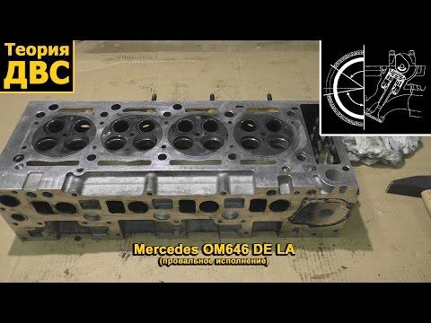 Фото к видео: Теория ДВС - ГБЦ Mercedes OM646 DE LA (провальное исполнение)