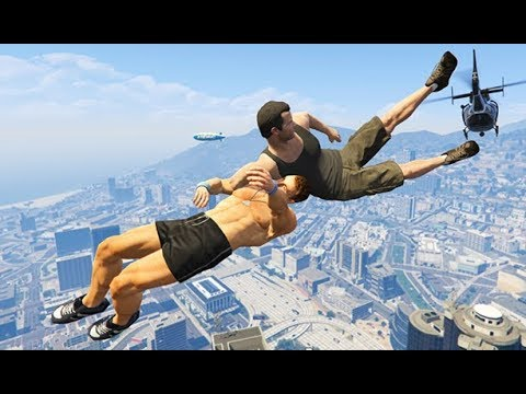 GTA 5 CRAZY Life Compilation #48 (GTA V Fails Funny Moments)