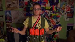 HvZ Nerf Loadouts - Leader Class - Cameron - Thunderdome