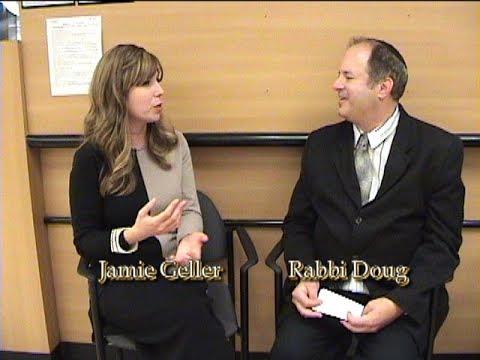Jamie Geller at The Kosher Taste 5777 on TAPED WITH RABBI DOUG