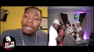 Marvin Di Beast Get Rushed In Canada By Thugs Almost Get Beat up