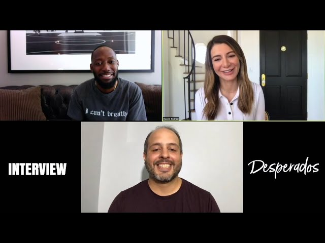 Interview Nasim Pedrad And Lamorne Morris Desperados Youtube