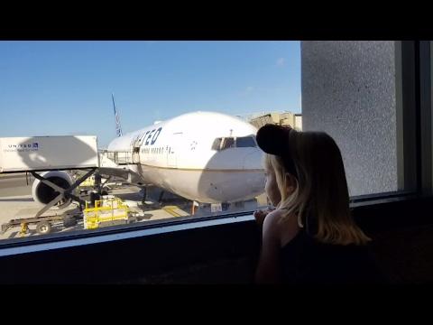 Vacation time!  Flying Honolulu to Osaka