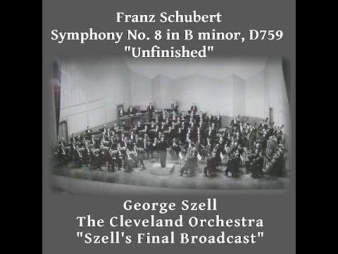 Schubert 8th, Szell 1970 Cleveland Orchestra