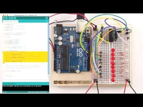 Schieberegister 74HC595 Am Arduino - Tutorial