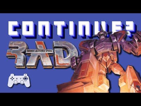 Robot Alchemic Drive (PS2) - Continue?