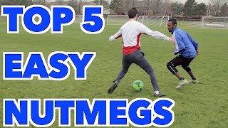TOP 5 WAYS TO NUTMEG - PANNA YOUR OPPONENT thumbnail