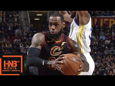 Cleveland Cavaliers vs Golden State Warriors Full Game Highlights  Jan 15  201718 NBA Season
