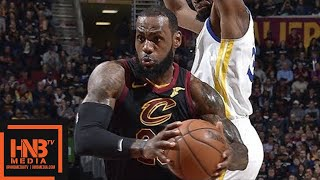 Cleveland Cavaliers vs Golden State Warriors Full Game Highlights  Jan 15  2017-18 NBA Season
