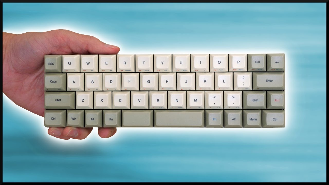0fd3cf22a2b The SMALLEST Mechanical Keyboard?! - YouTube