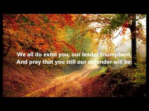 WE GATHER TOGETHER Lyrics Words Best Popular Christian Religious Hymns THANKSGIVING Songs