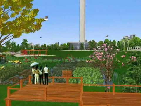 3D Exhibition of North Grand Canal Ecological Rehabilitation