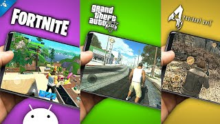 Fortnite Ya Disponible En Android Descarga Gta V Y Resident Evil 4 - Top Juegos Android