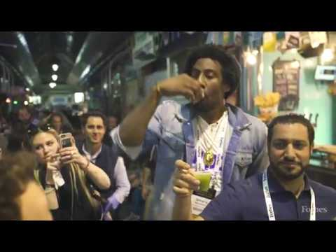 Israel Basketball Star Amare Stoudemire In The Shuk