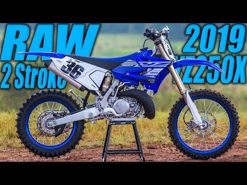 2019 Yamaha YZ250X 2 Stroke Raw - Motocross Action Magazine