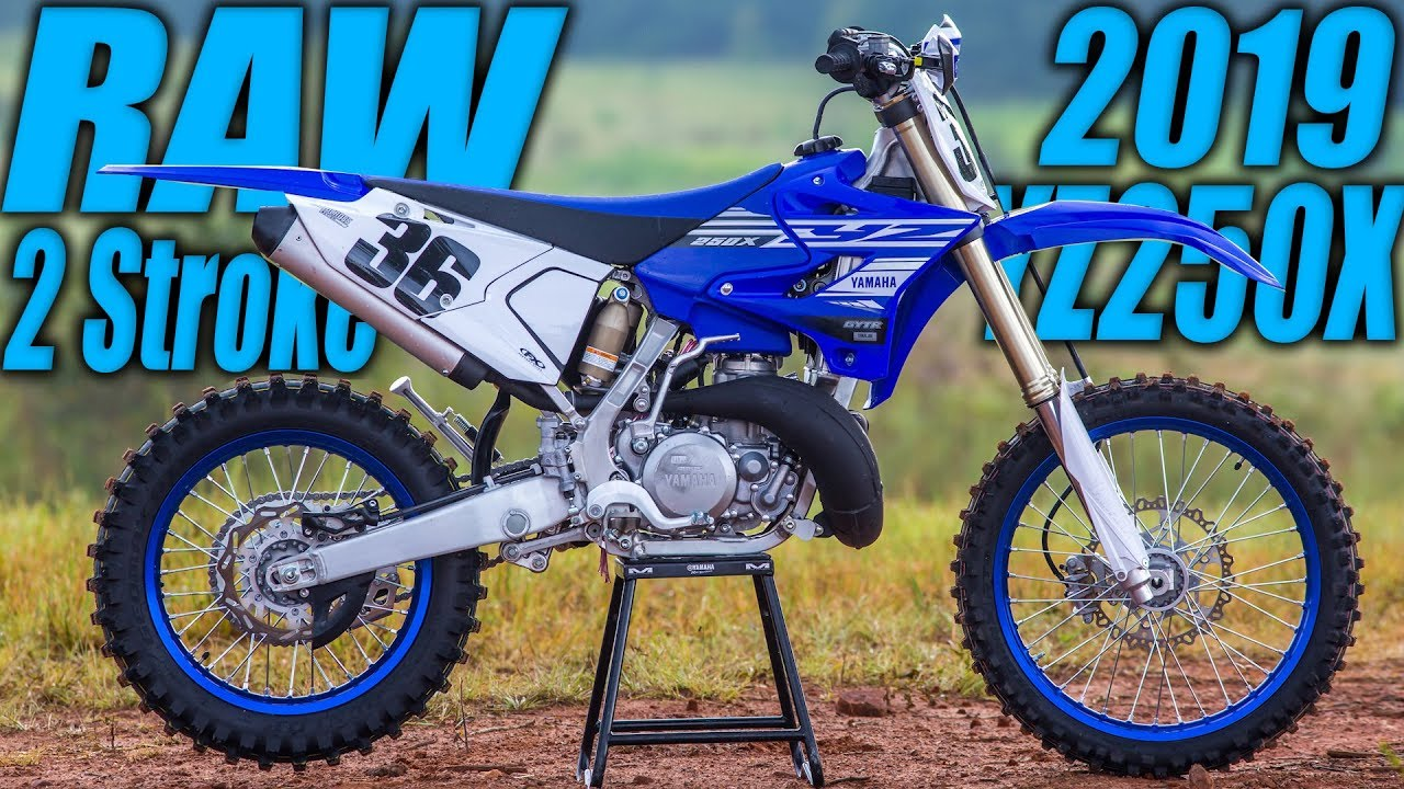 2019 Yamaha Yz250x 2 Stroke Raw Motocross Action Magazine