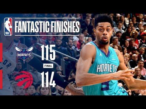 UNBELIEVABLE Shot Caps Off Fantastic Finish Between Hornets & Raptors! | March 24, 2019 thumbnail