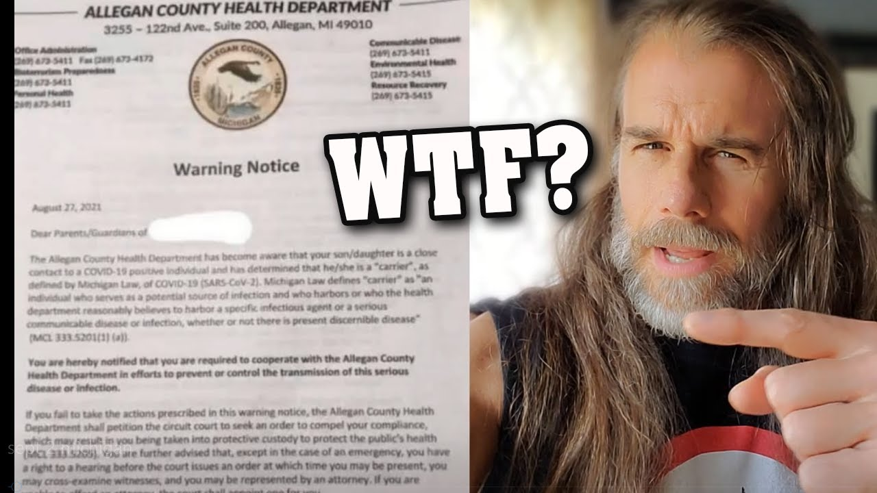 THEY ARE GOING TO QUARANTINE HEALTHY PEOPLE! - Have You Gotten This WARNING LETTER Yet?