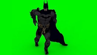 batman dance green screen