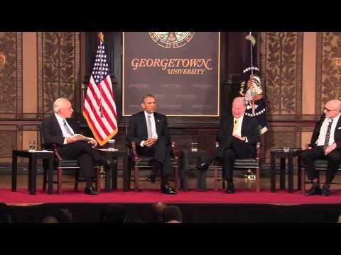 President Obama at Poverty Summit