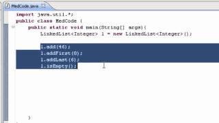 Beginner Java Tutorial # 13 -  ArrayList, LinkedList, Stack [MedCode]
