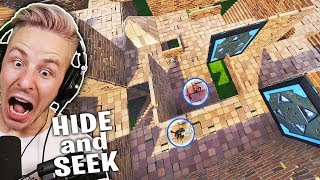 Hide and SEEK im 6 ETAGEN MEGA LABYRINTH in FORTNITE!