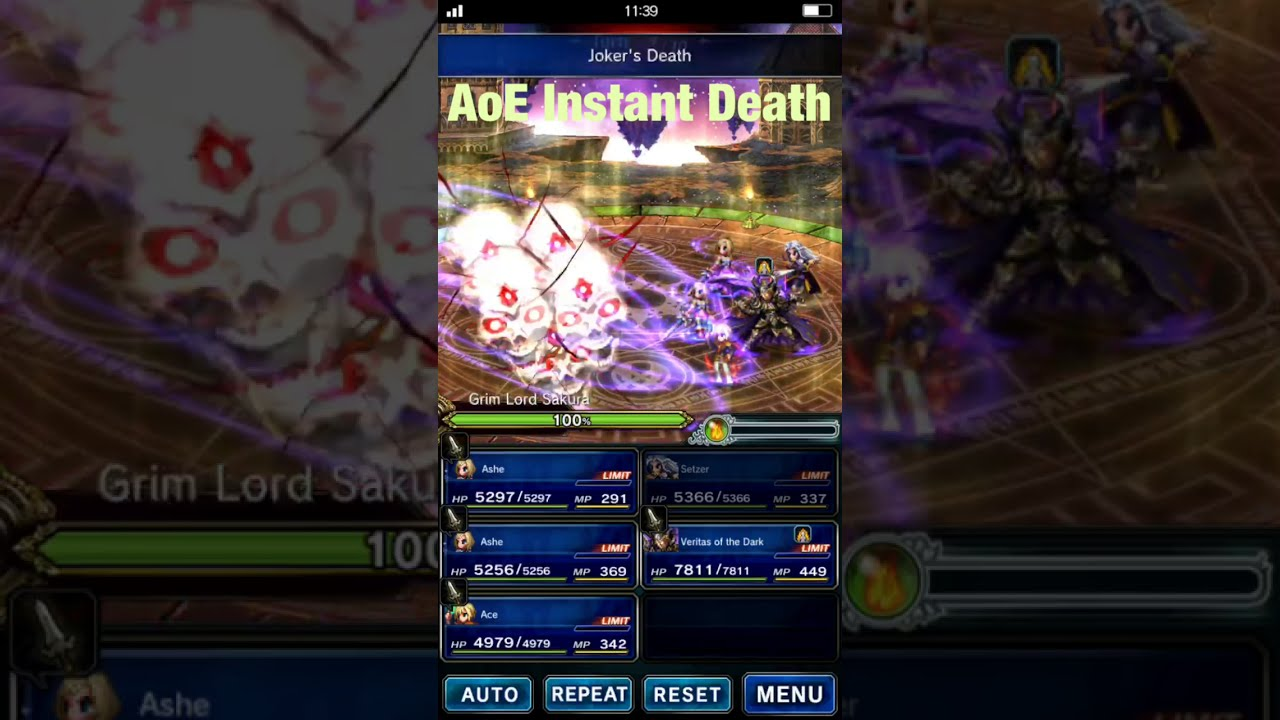 FFBE: The TOP 8 Skills in Arena