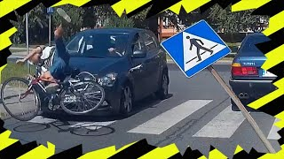 Potrącenie rowerzysty na przejściu dla pieszych ▪ polskiedrogiPLUS
