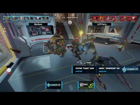 ICC 2017 LAN Overwatch - Swiss Group Rnd 2 - Burdens vs LCP Party