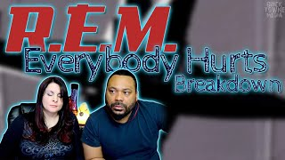 This video is about REM - Everybody hurts Reaction!!