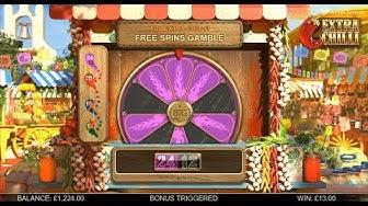Extra Chilli Slot Big Win (BTG) 24 spins £1000 buy a bonus