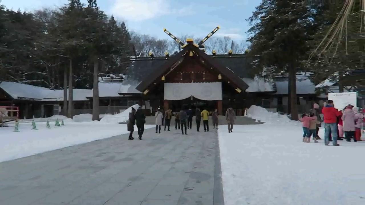 ศาลเจ้าฮอกไกโด Hokkaido Shrine 北海道神宮