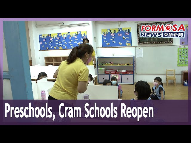 Preschools and cram schools allowed to reopen, with conditions