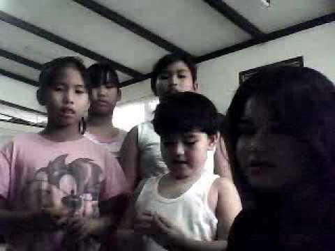 Me and my cousins singing Fireflies!!