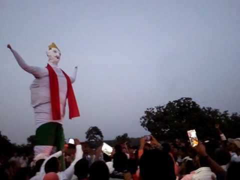 Rawan dahan celebration in village Edla simaria chatra jharkhand