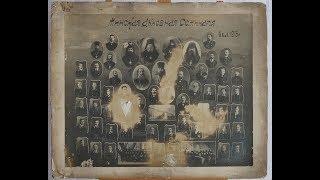 Большая фотография Минская духовная семинария 4 кл. 1915 г. на картоне размером 54,5 х 45 см