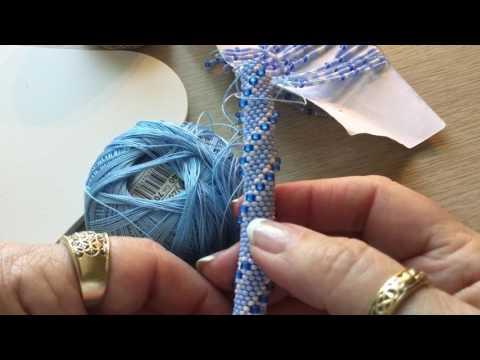 Bead Crochet thread and hook sizes