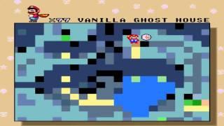 Super Mario World SNES Walkthrough - Map 3 (Vanilla Dome, Butter Bridge, Lemmy