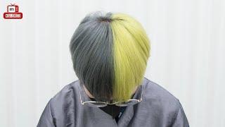 직원 머리 이렇게 염색 시켜주는 곳은 미엘뿐일거야...…