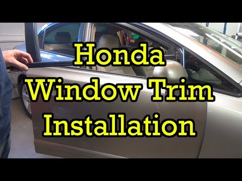 Honda Window Trim (Belt Molding) Replacement Civic 2006 (2006-2010 Similar)