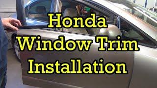 Honda Window Trim (Belt Molding) Replacement Civic 2006 (2006-2010 Similar)
