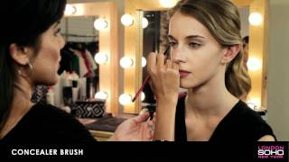 SOHO Silk Makeup Brush Collection - Concealer Brush Thumbnail