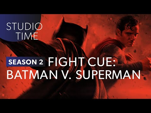 Batman v. Superman Fight Cue - Studio Time: S2E5