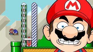 100 IMPOSSVEL ABSOLUTAMENTE IRRITADO  Super Mario Maker SUPER SALGADO