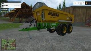 Heute stelle ich euch den Joskin Trans-KTP 22/50 Variable Body Mod für Landwirtschafts Simulator 15 vor.