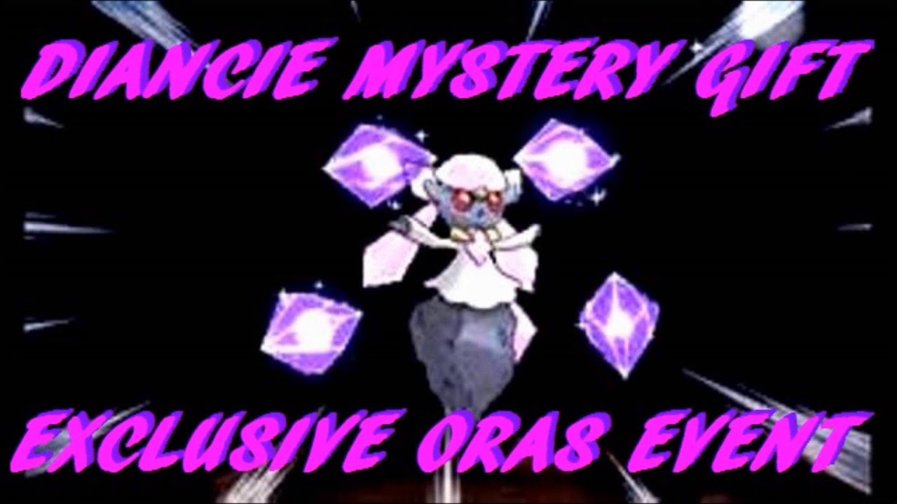 pokemon event giveaway pokemon diancie online mystery gift event giveaway for 4146