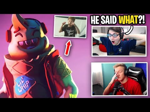 Reacting to Tfue DISS TRACK by FaZe H1ghSky1... (who WROTE THIS?)